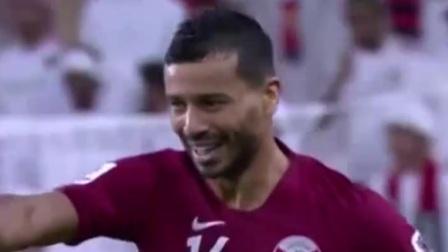 亚洲杯:阿里平进球纪录  卡塔尔大胜阿联酋首进