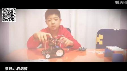 邯郸机器人学习中心单片机2期学员陈庆昊创意之智能高尔夫机器人…