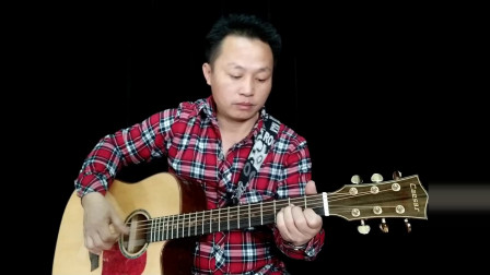 《兰花草》吉他独奏视频