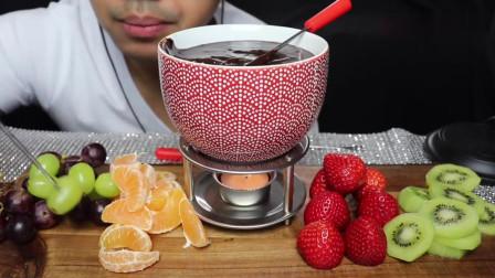 美食控冬天不能错过的美食,水果巧克力火锅,看得我口水直流