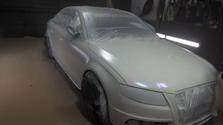 外国牛人自制白色车漆,原来多加了这,难怪都