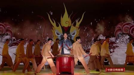 广东省歌舞剧院《赛龙夺锦》力与美的完美融合,每一个动作都充满韵味 2019中国城市春晚 20190202