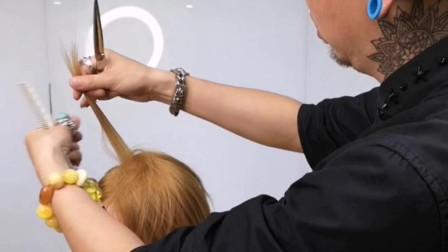 唯美短发的量感修饰技巧,鑫米主讲!