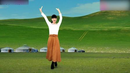 广场舞《银色的毡房》藏族歌曲演唱降央卓玛天籁之音附教学