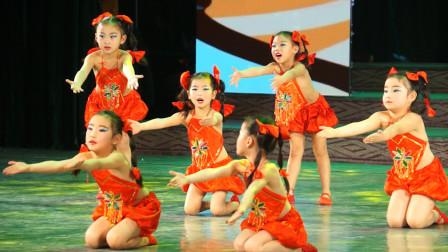 CETV绽放的向阳花2019少儿新春盛典(徐州站 )—《拍拍手 》萧县舞之韵