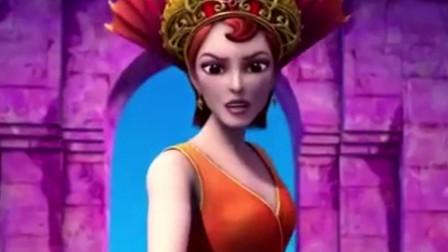 美人鱼历险记:玛利亚终于成功变成了新一代的美人鱼女皇!