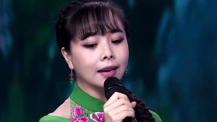 歌美人更美,甜美嗓音堪比宋祖英,以一首民歌震惊全场!