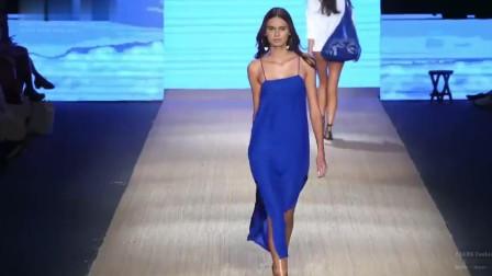 Mikoh 泳装秀2019迈阿密时装周,这种纱裙时尚中透着性感!
