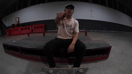 WOLLUP TRICK TIPS  周穆峰 FS Feeble Grind