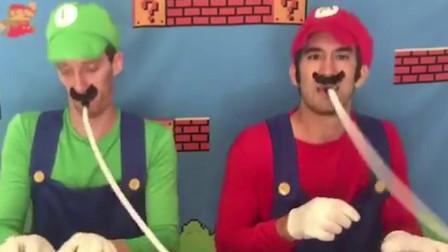 """还记得游戏里的""""超级马里奥""""吗?网友:一开口就想去顶蘑菇"""