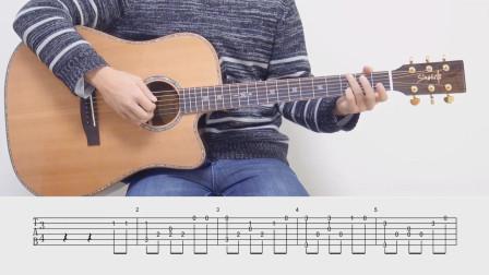 【琴侣课堂】吉他指弹教学《新年好》