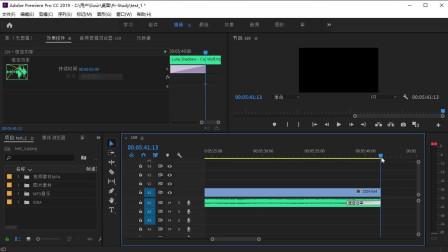Pr2019教程-3.1音频转场效果处理