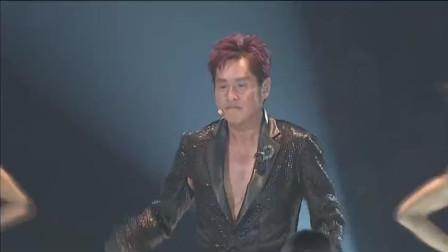 左麟右李演唱会,谭咏麟《午夜丽人》校长的唱功真棒