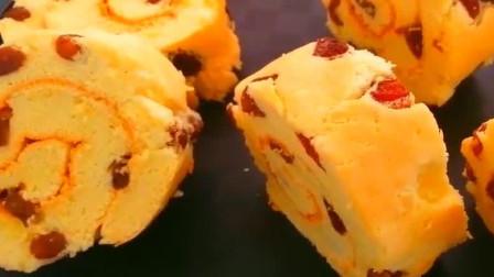 今天分享一个蛋糕卷做法,柔软劲道,爽滑可口