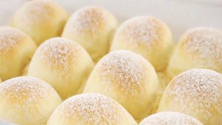 「烘焙教程」教你做蓬松的日本牛奶面包,5分钟搞定!