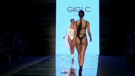 GIGI C 2019迈阿密时装秀比基尼走秀, 有实力才会显得更自信,释放时尚的魅力