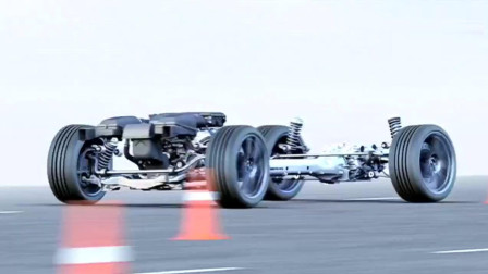 这个视频为你揭开奔驰汽车工作时,发动机的传动过程