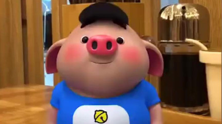 我是猪小屁:闻歌起舞,我就是亚洲舞王猪宝宝,猪年和我一起跳起来