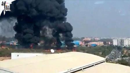 印度一架教练战斗机坠毁2人死亡