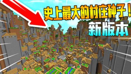 我的世界最大的村庄种子!这是一座城市吗?
