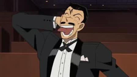 《名侦探柯南》毛利小五郎为柯南求情的样子太萌,小兰父子也是很搞怪