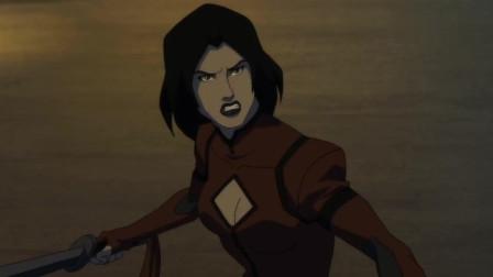 少年正义联盟:蝙蝠侠被暴揍,丧钟和希瓦夫人急忙赶来!