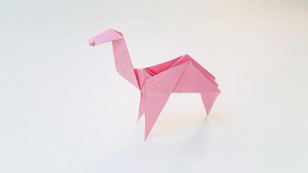 折纸王子骆驼,简单形象,收藏留着教孩子