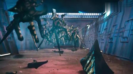 虫族入侵军事基地, 没想到还会把自己变成自爆球!