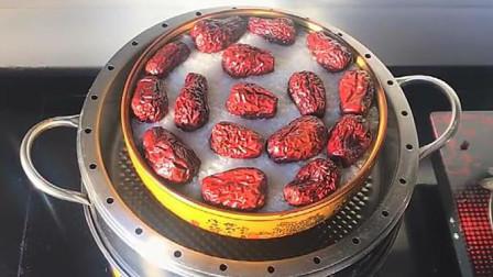 糯米糕好吃的做法,香甜软糯,简单蒸一蒸,出锅就可以吃