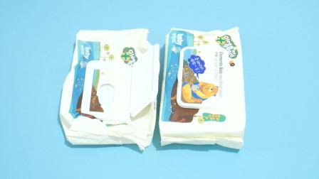 湿巾盖子扔了太可惜,这样简单改造一下,还有这些作用,方便实用
