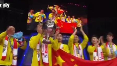 汤尤杯  中国男羽重回巅峰