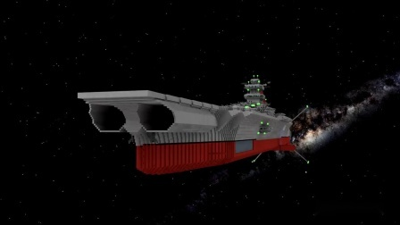 我的世界动画-太空战舰B01-BikMCTH