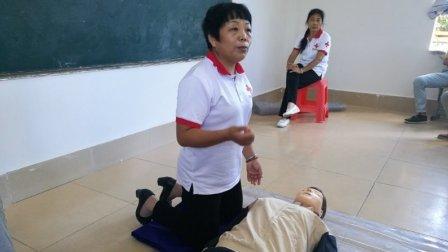 儋州市第二中学应急救护培训