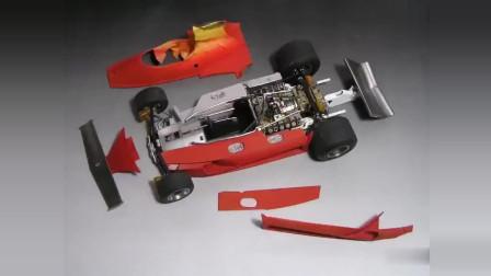 PLASMO模型教室:1比20法拉利312T方程式赛车F1