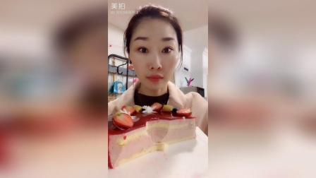 8寸草莓芝士奶酪蛋糕