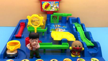 汤圆玩具屋熊出没 熊出没光头强和面包超人闯关