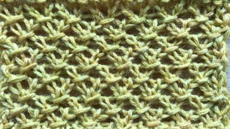 一款适合儿童织物的花样,精致细小,简单好上手钩针编织花样集锦