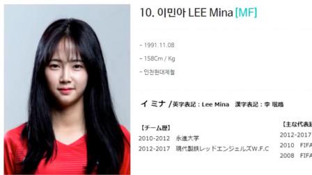 韩国女足第一美女,除了身高,都是女团级别的