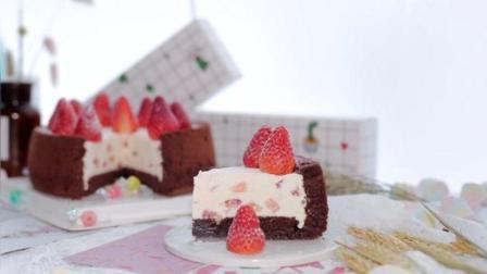 草莓慕斯可可蛋糕, 春节里的下午茶甜点