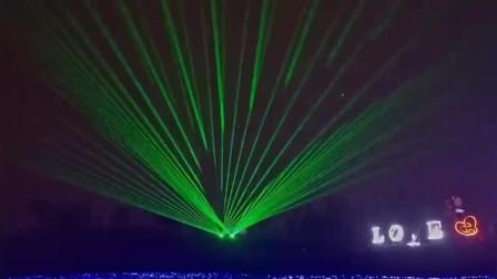 成都百花谷国际灯光艺术节激光秀-万圣激光