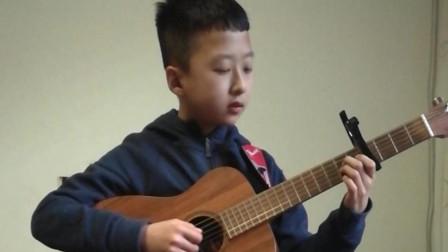 《稻香》吉他弹唱