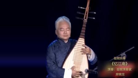 著名琵琶演奏家 方锦龙 琵琶独奏《忆江南》