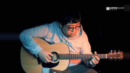 【吉他平方】玛丽娜MR-10原声面单民谣木吉他试听测评
