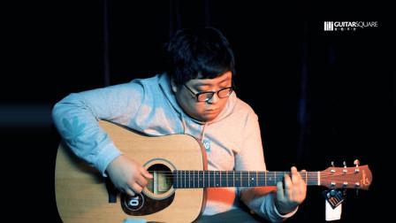 【吉他平方】玛丽娜MD-10原声面单民谣木吉他试听