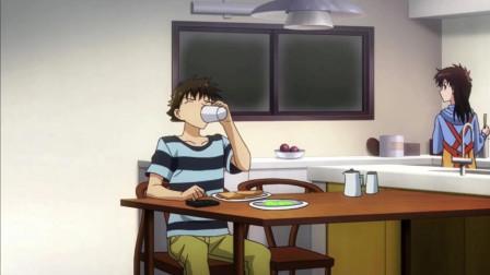 怪盗基德1412:好好起床吃早饭才行噢,青子的爱心早餐