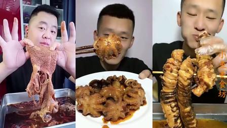 小鱼美食坊:大胃王小哥哥吃东西,看着都来劲!