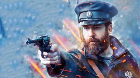 俄罗斯经典的M1895转轮手枪,据说拥有一把是至高无上的荣耀