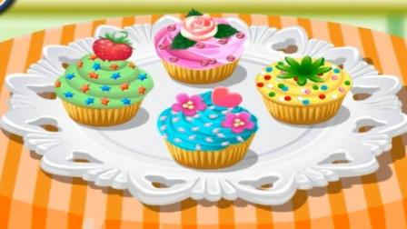 炫彩纸杯蛋糕培乐多彩泥儿童玩具