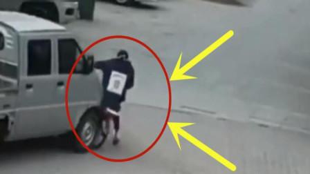 男孩放学骑车回家途中遭遇车祸,家人调看监控彻底愤怒了