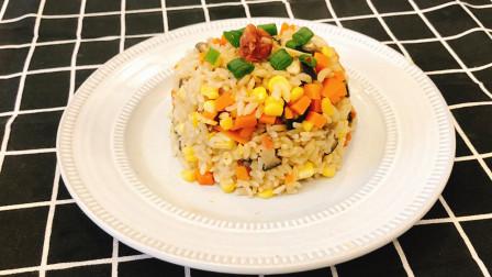 电饭煲焖饭,懒人都爱吃的一碗饭,做法简单关键还很好吃